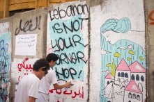 Graffiti is playing a key role an expressing dissatisfaction among youth